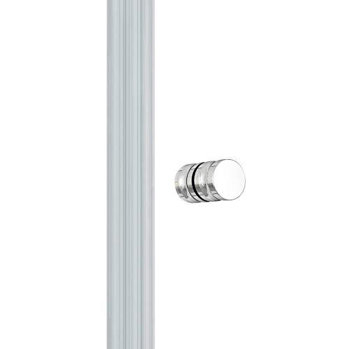 IMPTS Duschkabine faltbar Eckeinstieg 70x70 cm Doppel Duschtür Falttüren Falttürkabine 6mm Sicherheitsglas 185cm Höhe,OHNE Duschwanne - 6