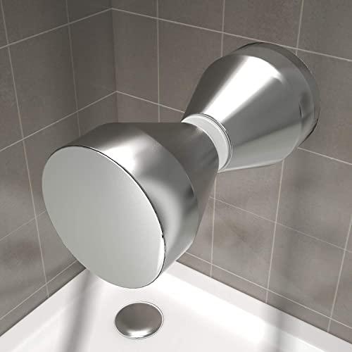 i-flair Eckeinstieg Duschkabine 70x70 cm, Faltdusche aus stabilem ESG Sicherheitsglas OHNE Duschwanne #99 - Alle GRÖSSEN (Auch SPIEGELVERKEHRT MONTIERBAR) - 9