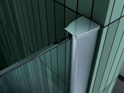 10 mm Duschtrennwand FREE-Mini 30 x 200 cm - 3