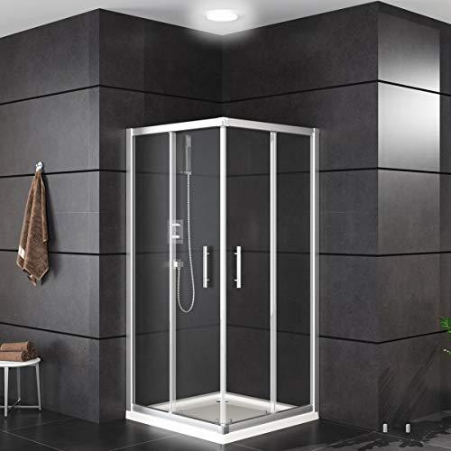 Duschkabine mit Schiebetüren und Eckeinstieg von Oimex