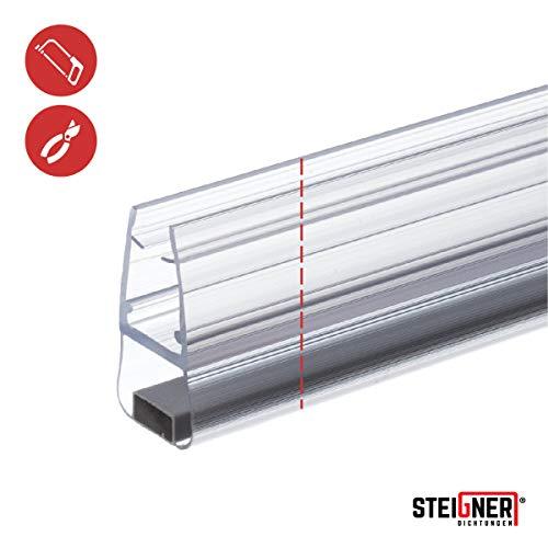 STEIGNER Magnetduschdichtung SET, 201cm, Glasstärke 3,5/4/ 5mm, Ersatzdichtung für 180 Grad Duschtür, UKM01, 2 Stück - 3