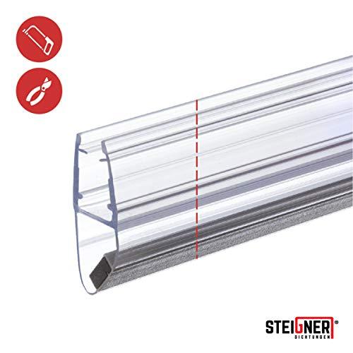 STEIGNER Magnetduschdichtung SET, 201cm, Glasstärke 3,5/4/ 5mm, Ersatzdichtung für 180 Grad Duschtür, UKM03, 2 Stück - 3