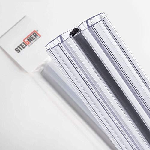 STEIGNER Magnetduschdichtung SET, 201cm, Glasstärke 3,5/4/ 5mm, Ersatzdichtung für 180 Grad Duschtür, UKM03, 2 Stück - 4