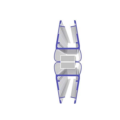 2 x 200 cm Magnetduschdichtung 180 Grad für 5 – 8 mm Glasdicke