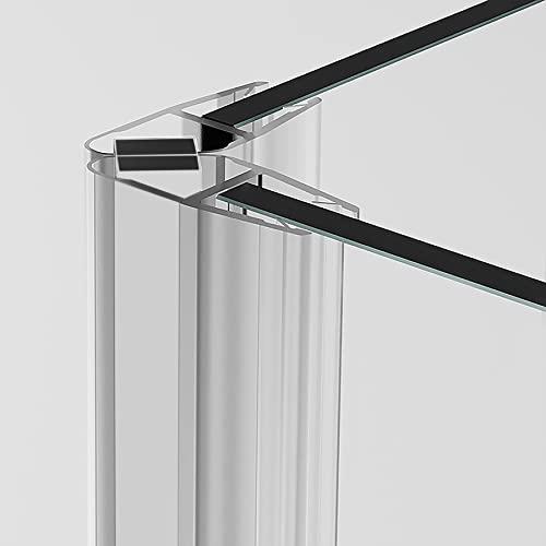2 x 200 cm Magnetduschdichtung 90 Grad für 5 – 8 mm Glasdicke