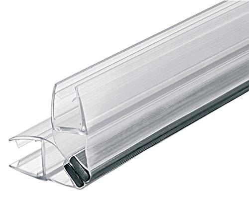 2 x 200 cm Magnetduschdichtung 90 Grad für 8 – 10 mm Glasdicke