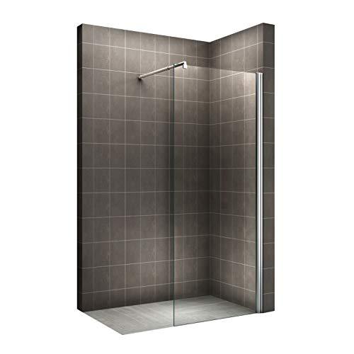 Duschwand für Walk In Dusche mit Nanobeschichtung