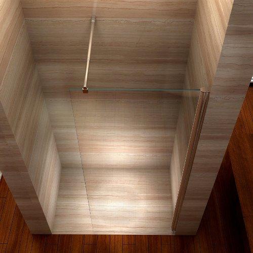 Duschwand für Walk In Dusche mit Nanobeschichtung - 3