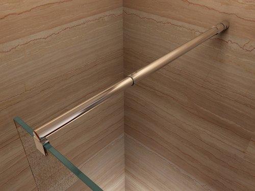 Duschwand für Walk In Dusche mit Nanobeschichtung - 4