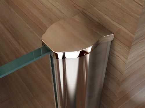 Duschwand für Walk In Dusche mit Nanobeschichtung - 5
