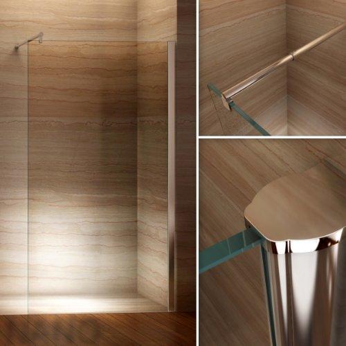 Duschwand für Walk In Dusche mit Nanobeschichtung - 8