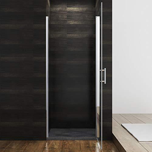 Rahmenlose Duschtür Drehtür aus Klarglas von sunnyshowers - 3