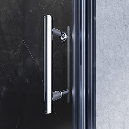 Rahmenlose Duschtür aus Klarglas - 6