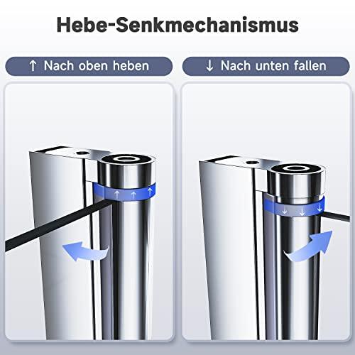 Rahmenlose Duschtür Drehtür aus Klarglas von sunnyshowers - 8
