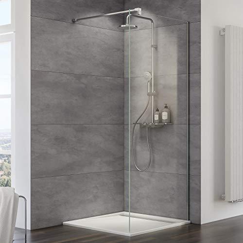 """Duschwand """"MasterClass M10"""" für eine Walk-In Dusche mit Nanobeschichtung"""