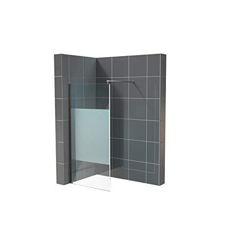 Duschwand für Walk in Dusche in verschiedenen Designs mit Nanobeschichtung - 2