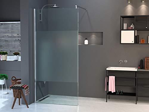 Duschwand für Walk in Dusche in verschiedenen Designs mit Nanobeschichtung - 3