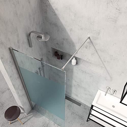 Duschwand für Walk in Dusche in verschiedenen Designs mit Nanobeschichtung - 5