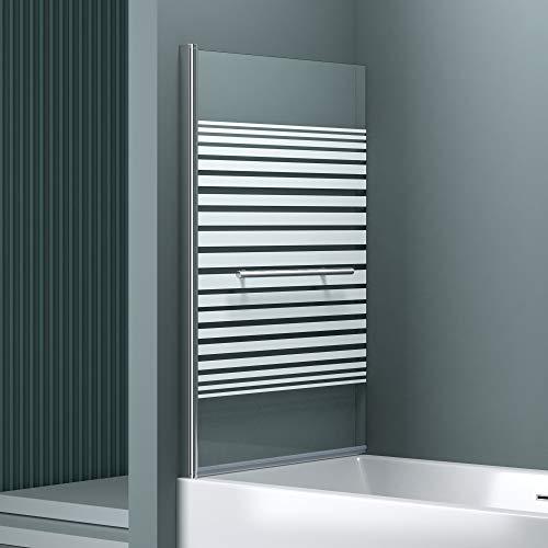 """Teilsatinierter Badewannenaufsatz """"Cortona1122"""" mit Nanobeschichtung - 5"""