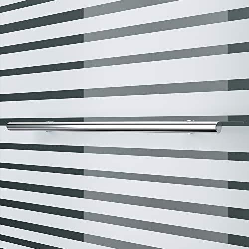 """Teilsatinierter Badewannenaufsatz """"Cortona1122"""" mit Nanobeschichtung - 7"""